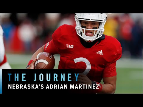 Nebraska's Freshman Phenom: Adrian Martinez | Big Ten Football | The Journey