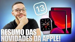 Apple Watch 5 Ipad Novo Applearcade Ios 13 Iphone 11 E Mais  Resumo Das Novidades