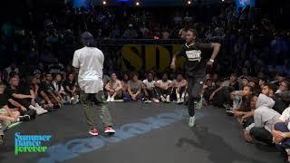 Franky Dee vs Dykens TOP 24 Hiphop Forever - Summer Dance Forever 2019