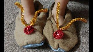 DIY Indoor Slippers/Shoes