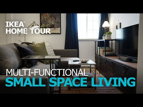 Small Apartment Ideas - IKEA Home Tour (Episode 308)