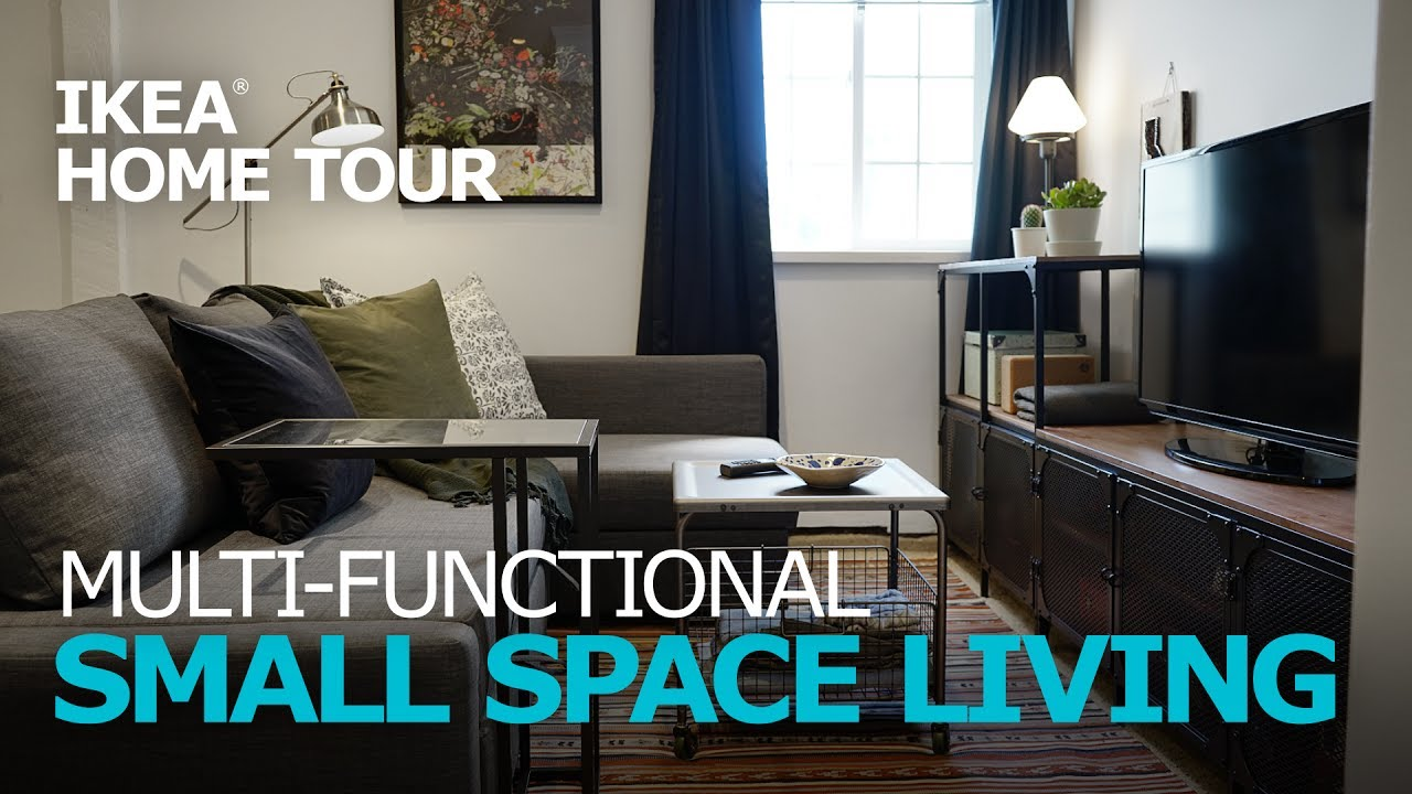 decorating small living room apartment chandelier for ideas ikea home tour episode 308 youtube