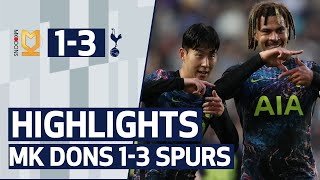 Heung-min Son, Dele and Lucas Moura score in pre-season win | Highlights | MK Dons 1-3 Spurs