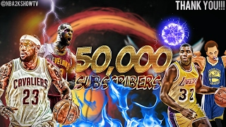 THANK YOU FOR 50,000 SUBSCRIBERS