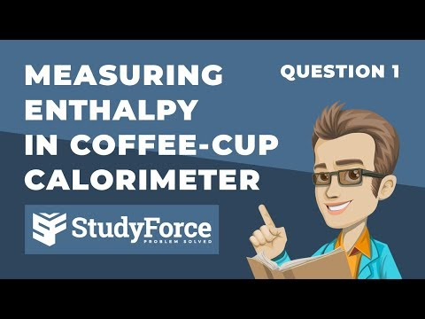 ⚗️ Measuring Change In Enthalpy In A Coffee-Cup Calorimeter (Question 1)