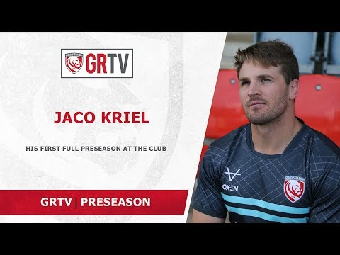 Kriel making the most of his first full preseason with Gloucester Rugby