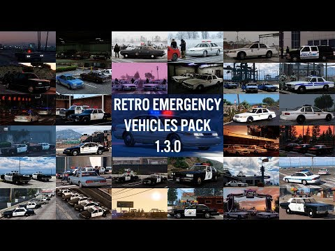 What's new in Retro Emergency Vehicles Pack 1.3.0