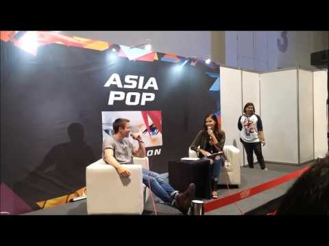 Joe Dempsie at AsiaPop Comicon Manila 2016