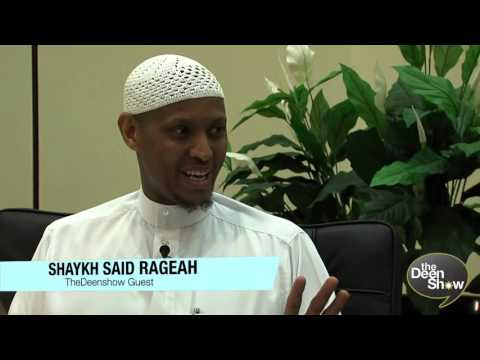 It's easy to be a thug or a gangster, try being a Muslim!   The Deen Show with Saed Rageah