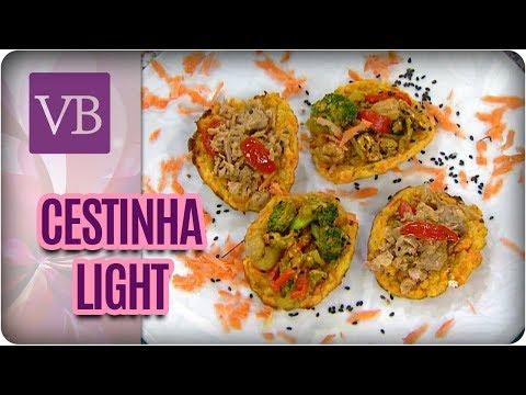 Cestinha Recheada Light - Você Bonita (12/04/18)