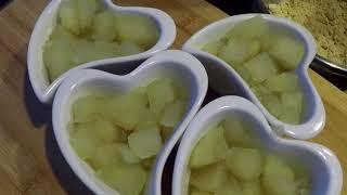 Pear cinnamon crumble- Crumble aux poires et à la cannelle