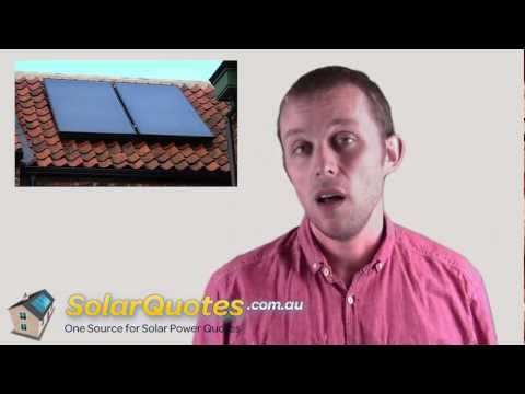What Is The Difference Between Solar Hot Water Panels And Solar Electricity Panels?