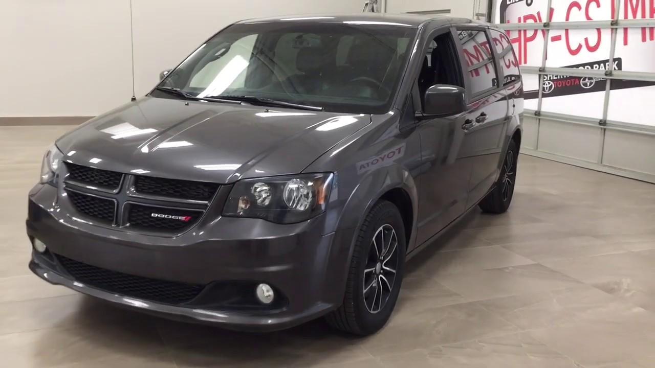 2018 Dodge Grand Caravan Gt Review Youtube