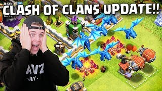 MEGA CLASH OF CLANS UPDATE SPELEN!! NEDERLANDS
