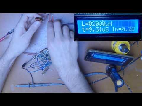 Прибор для измерения катушек индуктивности своими руками