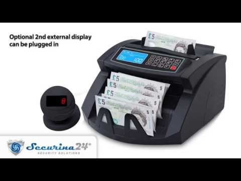 Securina24 Banknote Counter SR-3750 LCD