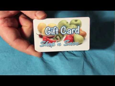 Starting your Plastic Gift Card Program, Plastic Card Printing