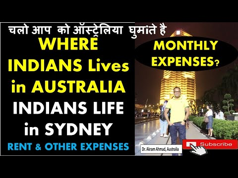 Where Indians Lives in Australia | Monthly Expenses | Indians Life in SYDNEY Australia