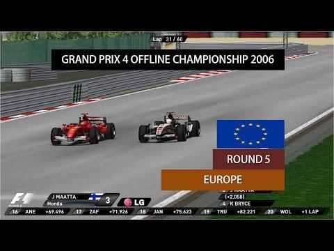 Grand Prix 4 OC 2006   Round 5   European Grand Prix Highlights