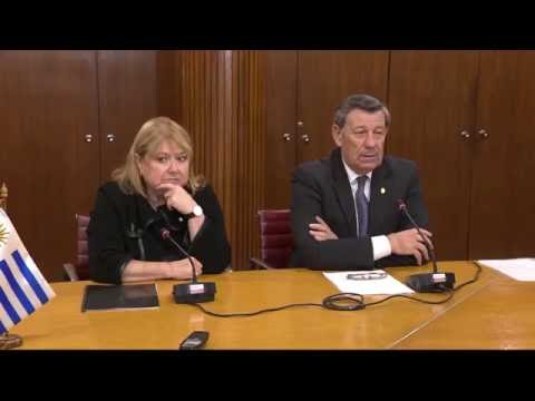 Canciller Nin Novoa con la Ministra Argentina Susana Malcorra