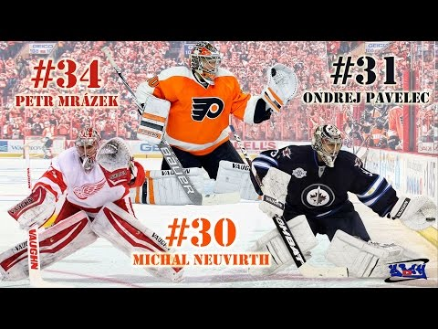 The Best #34 Petr Mrázek #30 Michal Neuvirth #31 Ondrej Pavelec