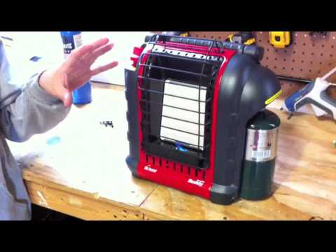 Mr Heater MH9BX - Portable Buddy Propane Heater - Review