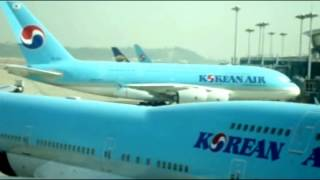 AIRLINE TRAVEL & AIRPORTS: Incheon Airport featuring Korean Air