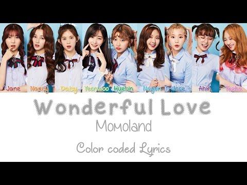 Momoland - Wonderful Love Color Coded Lyrics Han Rom Eng