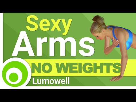 Minute Slim Sexy Arm Workout Without Weights