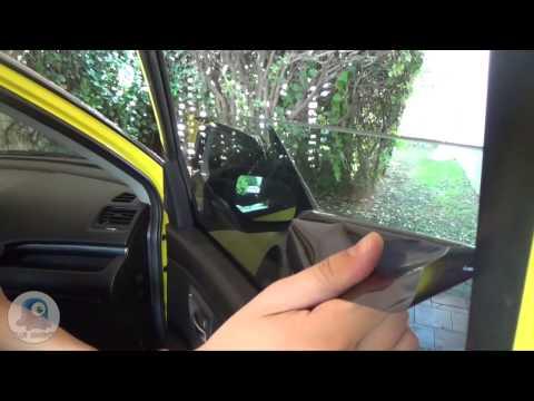 Como polarizar un auto facilmente con acabado profesion - Quitar rayones coche facilmente ...