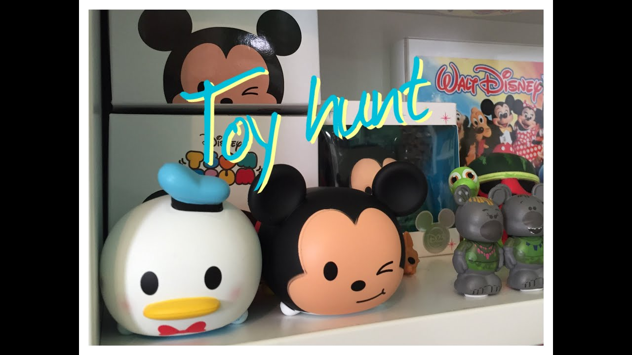 Toys From Hot Topic : Mini toy hunt march disney store tsum tsums hot
