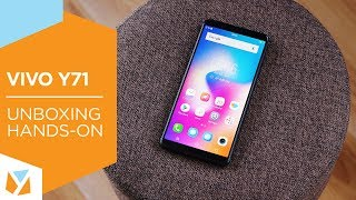 Vivo Y71 Unboxing, Hands-On