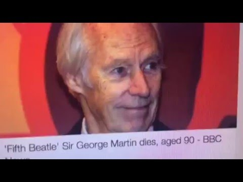 George Martin Dies, The Fifth Beatle, 90 Years Old