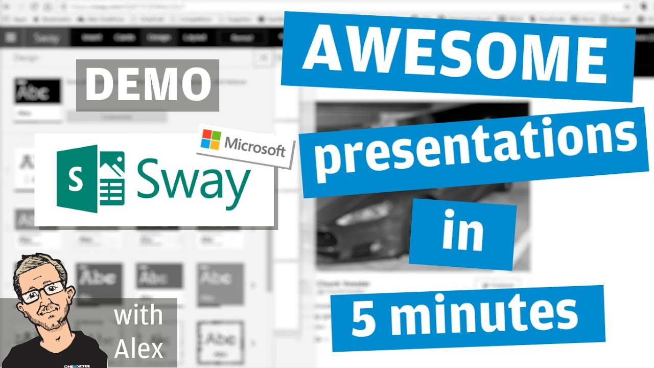 DEMO: Awesome presentations in 10 mins with Sway (Microsoft Office 365)