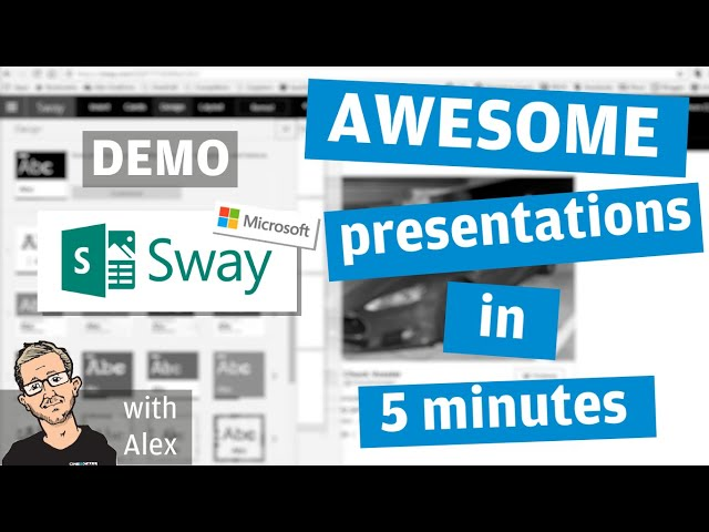 Powerpoint is dead! Sway is the new King of Presentations