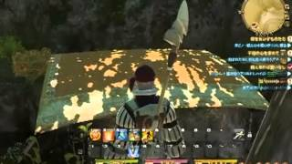 FFXIV:ARR-OUT SIDE TOWN GLITCH/TUTORIAL