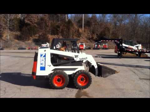 For Sale 1991 Bobcat 753 Youtube