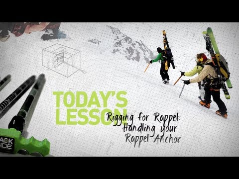BackSide Elevated Education Episode 27 - Rigging for Rappel - Handling your Rappel Anchor