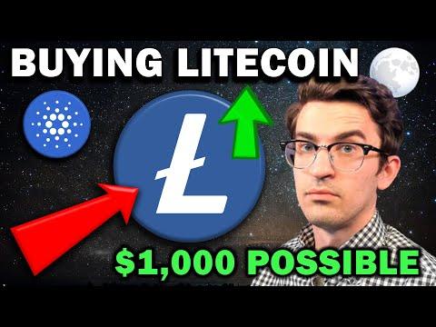 LITECOIN SET TO SURGE - $1,000 LTC POSSIBLE