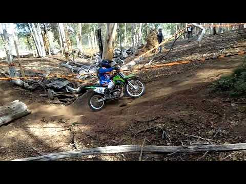 Out at Toodyay/offriadriding club/younger 85 class