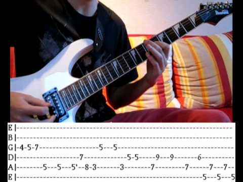 Tetris Theme A - Guitar Tutorial (Lesson + Tabs for all Tracks)
