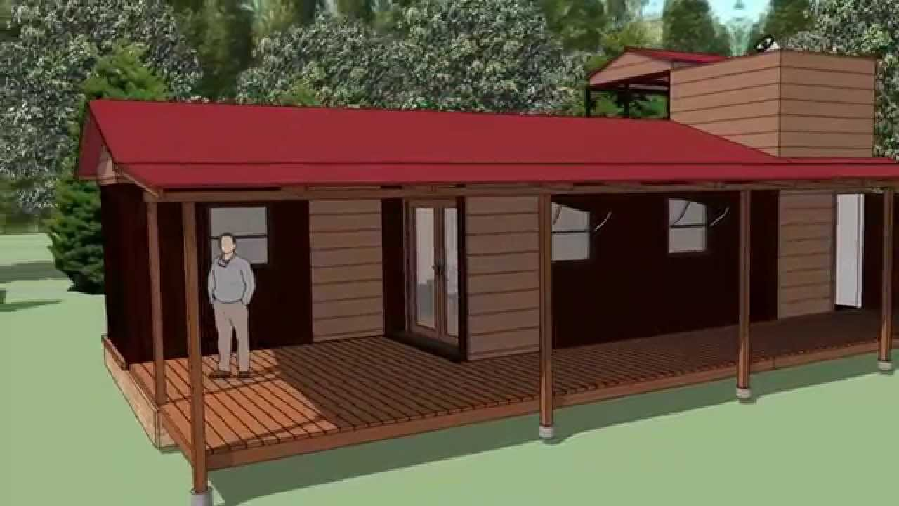 Shipping Container Cabin With Observatory Updated Youtube