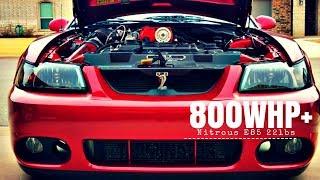 800whp+ 2003 KB Cobra 2.8LC High Boost 22lbs E85 Nitrous Walk around, Pulls, Corvette Run