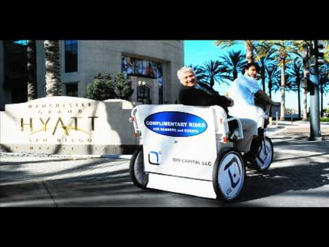 Q10 Pedicab Sponsorship