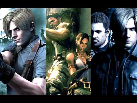 Evolution of Resident Evil Intros 1996-2017 (ALL INTROS)