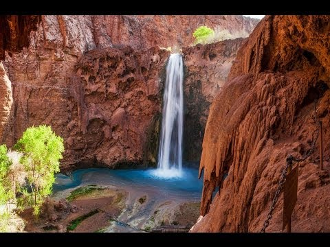 """Waterfalls of the World"" (+Music)1 HR Healing Nature Relaxation™ Video 1080p with Musc"