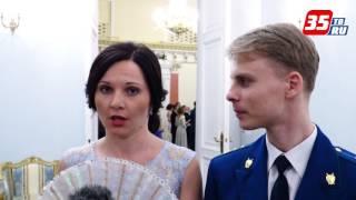 Офицерский бал прошел в Вологде