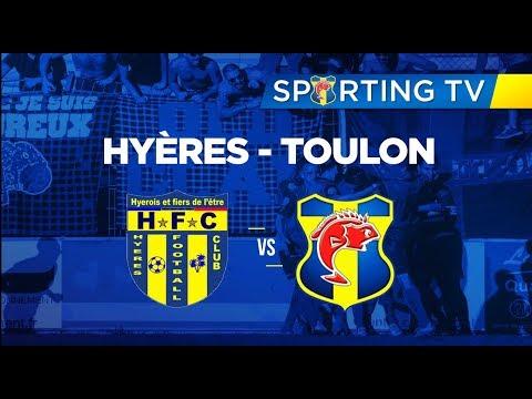 Hyères FC - SPORTING CLUB TOULON (0-1): 15ème journée de National 2 (20/12/2017)