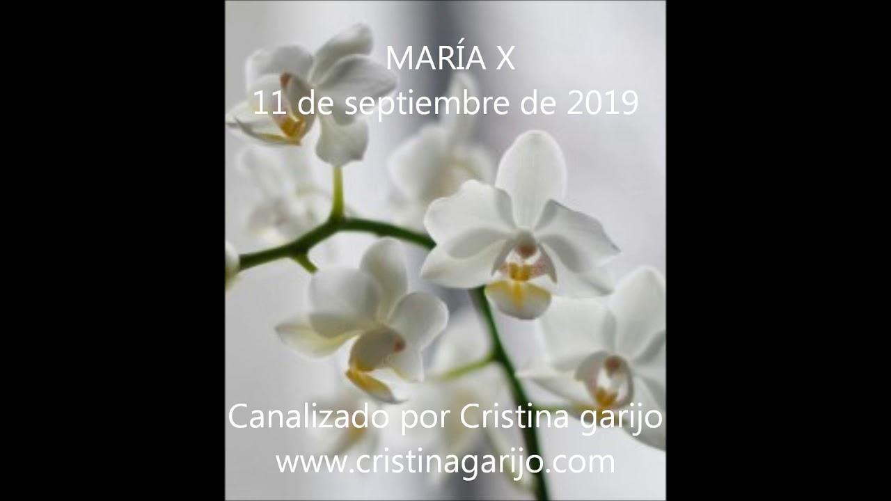CANALIZACIÓN MARÍA X