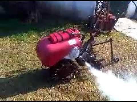 Motozappa guzzi 110 prima del restauro youtube for Youtube motozappa